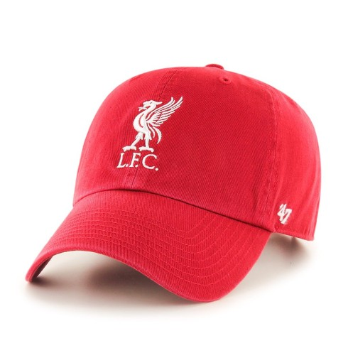 Liverpool FC `47 Clean Up Primary Cap - Red | Adjustable