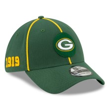 Green Bay Packers New Era 2019 NFL On Field Home 39THIRTY Cap