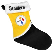 Pittsburgh Steelers NFL 17 inch Color Block Christmas Stocking
