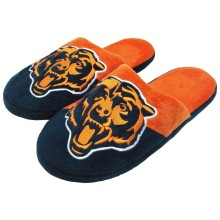 Chicago Bears NFL Men's Big Logo Slipper 2.0