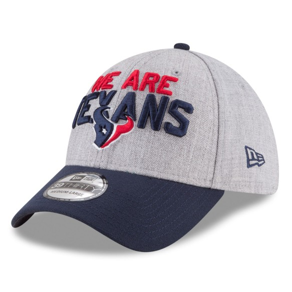Houston Texans New Era NFL 2018 Draft On Stage 39THIRTY Hat