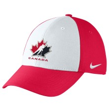 Team Canada IIHF Classic99 Structured Swooshflex DRI-FIT Cap - 2 Tone | Adjustable