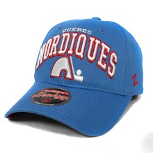 Quebec Nordiques Zephyr Sport Arch Cap - Light Blue | Adjustable
