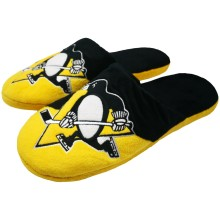 Pittsburgh Penguins NHL Men's Big Logo Slipper 2.0