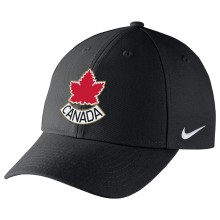 Team Canada IIHF Classic99 Structured Adjustable DRI-FIT Alternate Logo Cap - Black | Adjustable