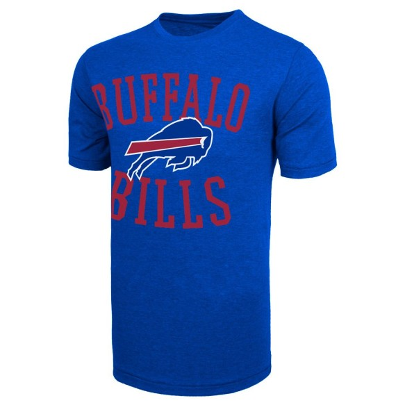 Buffalo Bills NFL '47 Archie Bi-Blend T-Shirt