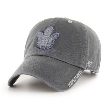 Casquette NHL Clean Up Charcoal Ice des Maple Leafs de Toronto