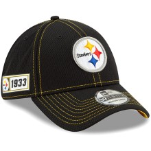 Pittsburgh Steelers New Era 2019 NFL On Field Road 39THIRTY Cap