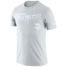 Minnesota Vikings NFL Nike Pale Gray NFL 100 2019 Sideline Platinum Performance T-Shirt