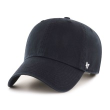 47 Brand Clean Up Blank Dad Hat - Black | Adjustable
