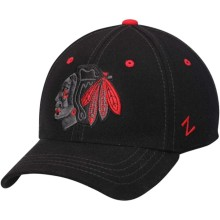 Chicago Blackhawks Black Element II ZF Cap