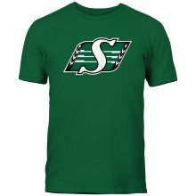 Saskatchewan Roughriders CFL Basic Logo T-Shirt