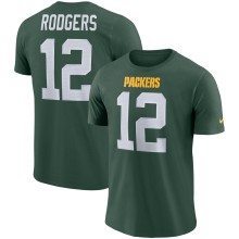 T-Shirt NFL DRI-FIT NIKE fierté du joueur 3.0 Aaron Rodgers des Packers de Green Bay