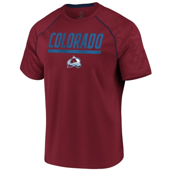 Colorado Avalanche NHL Team Mission Synthetic T-Shirt