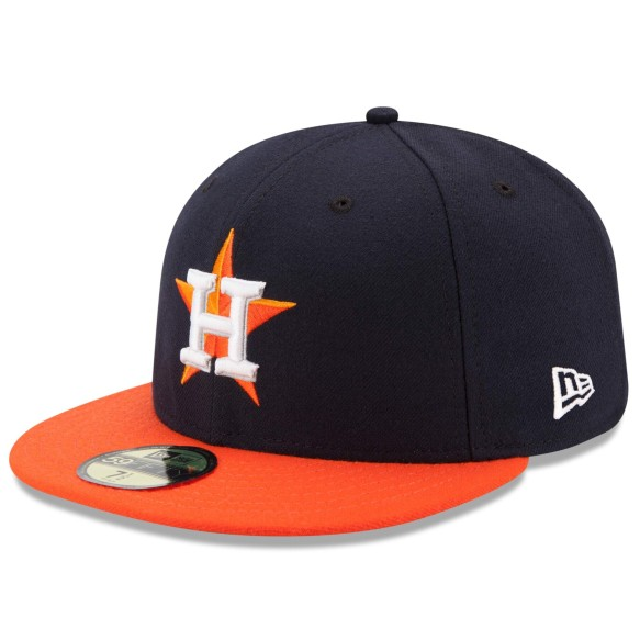 Houston Astros 59FIFTY Authentic Collection On Field Fitted Road MLB Baseball Cap