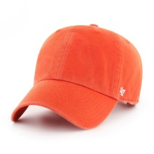 47 Brand Clean Up Blank Dad Hat - Orange | Adjustable