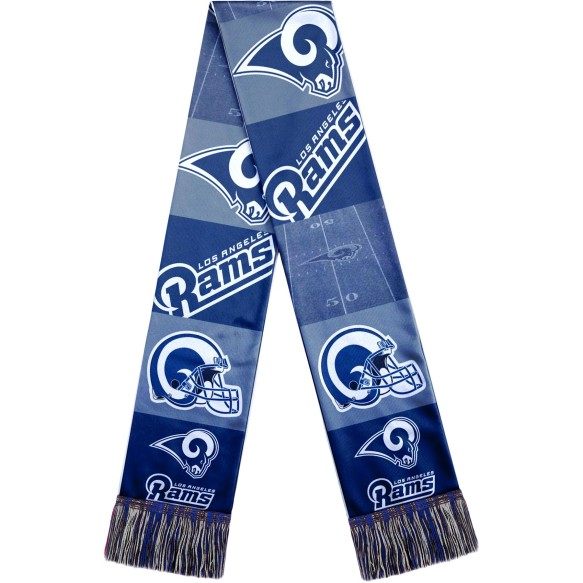 Los Angeles Rams NFL Sublimated Printed Logo Scarf