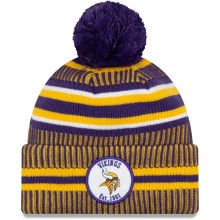 Minnesota Vikings 2019 NFL Official Sideline Home Cold Weather Sport Knit Hat
