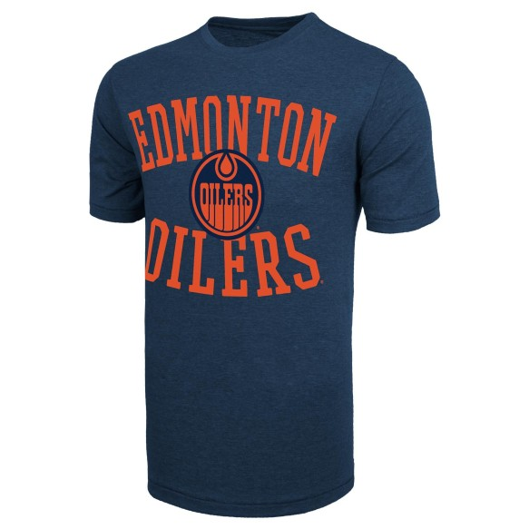 Edmonton Oilers NHL '47 Archie Bi-Blend T-Shirt - Alternate