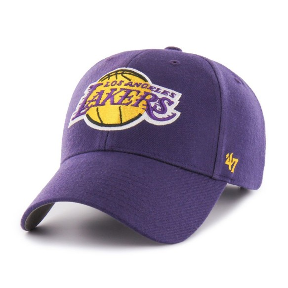 Los Angeles Lakers NBA '47 MVP Cap - Purple | Adjustable