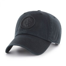 Winnipeg Jets NHL `47 Clean Up Black On Black Cap | Adjustable