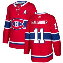 Brendan Gallagher Montreal Canadiens adidas NHL Authentic Pro Home Jersey - Pro Stitched