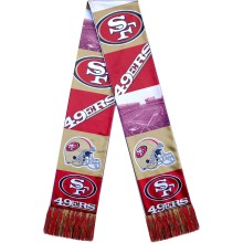 San Francisco 49ers NFL Sublimated Printed Logo Scarf