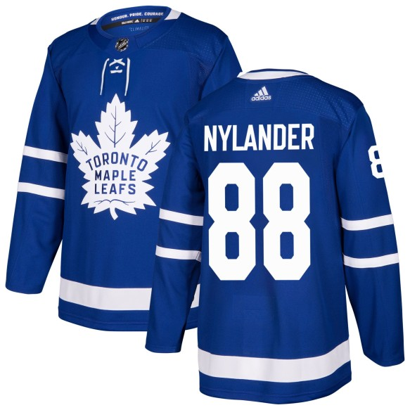 William Nylander Toronto Maple Leafs adidas NHL Authentic Pro Home Jersey - Pro Stitched
