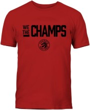 Toronto Raptors YOUTH Bulletin 2019 We The Champs T-Shirt (Red)