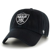 Oakland Raiders NFL Clean Up Cap | Adjustable