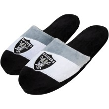 Oakland Raiders NFL Men's Colorblock Slide Slippers