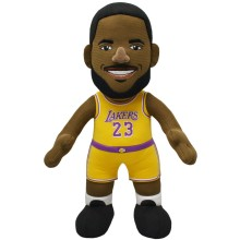 "Los Angeles Lakers Lebron James 10"" NBA Plush Bleacher Creature"