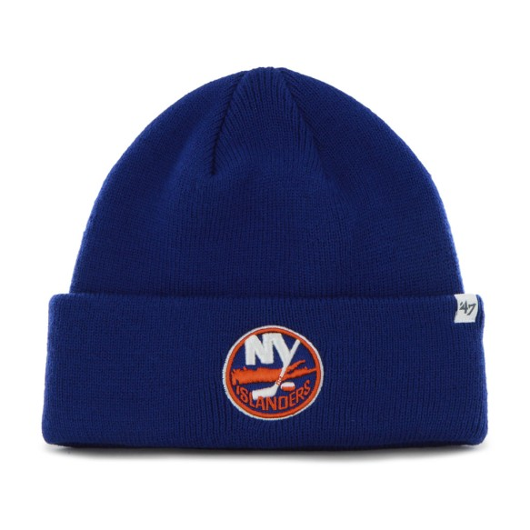 New York Islanders NHL '47 Raised Cuff Knit Primary Beanie