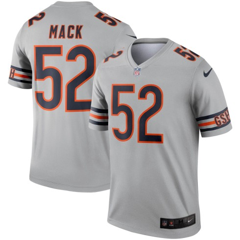 Chicago Bears Khalil Mack NFL Nike Inverted Legend Jersey