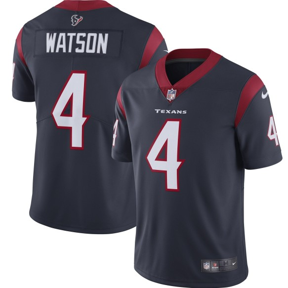 Houston Texans Deshaun Watson NFL Nike Limited Team Jersey - Midnight