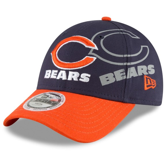 Chicago Bears YOUTH Sideflect 9FORTY Cap | Adjustable