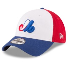 Montreal Expos Core Classic Tri-Color Relaxed Fit 9TWENTY Cap