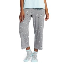 Life is Good Women's Cropped Sleep Pant - Starry Moons