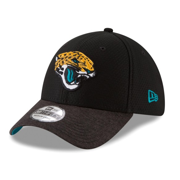 Jacksonville Jaguars NFL New Era Popped Shadow 39THIRTY Cap