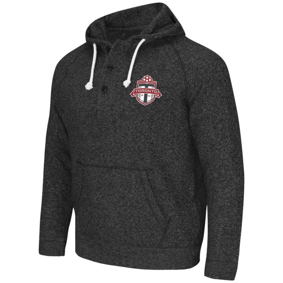 Toronto FC MLS 3 Button Express Twill Logo Hoodie