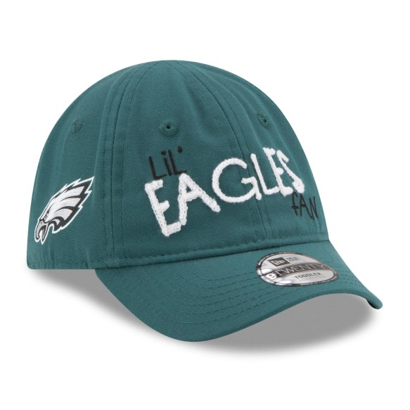 Philadelphia Eagles NFL New Era INFANT Lil Cutie 9TWENTY Cap | Adjustable