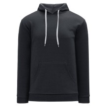 Classic Lace Athletic Kangaroo Hoodie - Charcoal