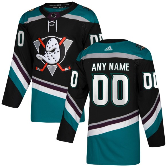 Anaheim Ducks ANY NAME adidas NHL Authentic Pro Alternate Jersey - Pro Stitched