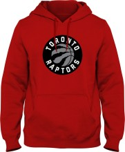 Toronto Raptors NBA Basic Logo Hoodie - Red