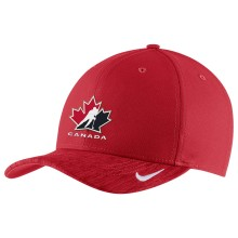 Team Canada IIHF Classic99 Coaches Aerobill Adjustable DRI-FIT Cap - Red | Adjustable