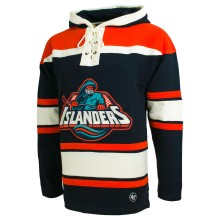 New York Islanders NHL '47 Heavyweight Jersey Lacer Hoodie -1995-97
