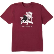 Life is Good Men's Winter Dog Days Crusher Tee