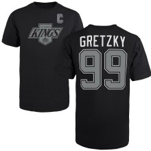 Los Angeles Kings Wayne Gretzky '47 Vintage NHL Alumni T-Shirt