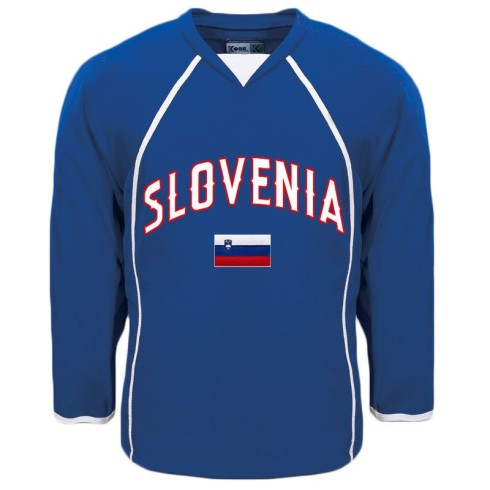 Slovenia MyCountry Fan Hockey Jersey