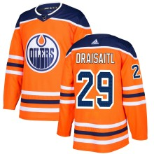 Leon Draisaitl Edmonton Oilers adidas  NHL Authentic Pro Home Jersey - Premade